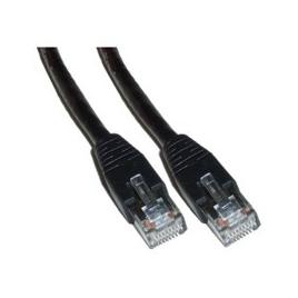 Cable Kablex red RJ45 CAT 5 15M Black