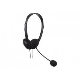 Auricular Tacens Anima AH118 USB 2.0 Black