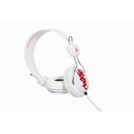 Auricular Wesc Estereo Conga red / White