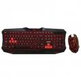 Teclado + Mouse Approx Appbat Retroiluminado Black/Red