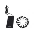 Alimentador Portatil Universal Nilox Slim Automatico 90W USB