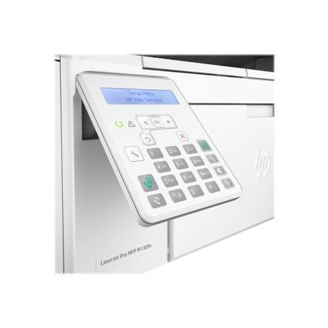 Impresora HP Multifuncion Laser Monocromo PRO MFP M130FN 22PPM USB LAN White