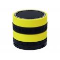 Altavoz Bluetooth Conceptronic Bass Speaker 3W Micro SD Radio Black/Yellow