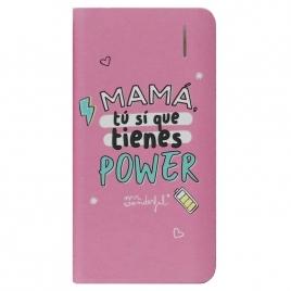 Bateria Externa Universal MR Wonderful 4.000MAH USB Mama