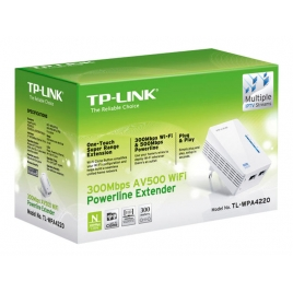 Adaptador PLC TP-LINK WIFI Powerline WPA4220