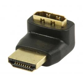 Adaptador Kablex HDMI Macho / HDMI Hembra Acodado 270º