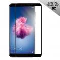 Protector de Pantalla Cool Cristal Templado 3D Black para Huawei P Smart