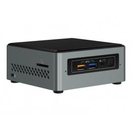 Barebone Intel NUC CEL J3455 HD Graphics 500 7.1 Glan Black/Silver