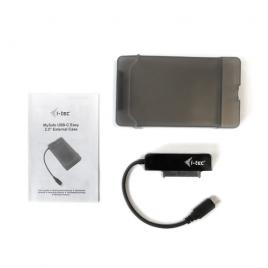 "Carcasa Disco Duro 2.5"" I-TEC Mysafe Sata USB-C 3.1 Black"