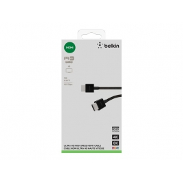Cable Belkin HDMI 2.0 19 Macho / 19 Macho 2M 4K / 8K