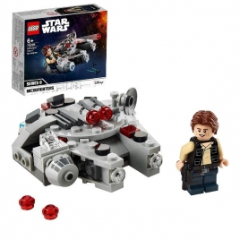Construccion Lego Microfighter Halcon Milenario