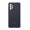 Funda Movil Back Cover Samsung Silcone Black para Galaxy A52