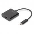Adaptador Digitus USB-C Macho / HDMI Hembra