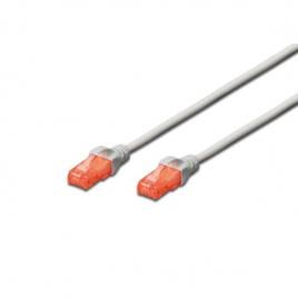 Cable Digitus red RJ45 CAT 6 UTP 10M Grey