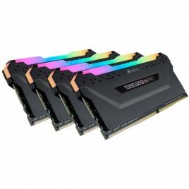 DDR4 128GB BUS 3200 Corsair Vengeance RGB PRO Black KIT 4X32GB