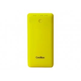 Bateria Externa Universal Coolbox 10.000MAH USB Yellow