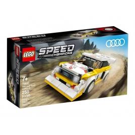 Construccion Lego Coche Audi Sport Quattro S1
