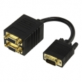 Cable Kablex Svga 15 Macho / 2X Svga 15 Hembra 0.1M