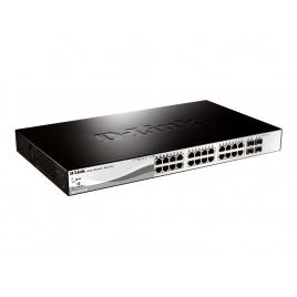 Switch D-LINK DGS-1210-28 10/100/1000 24 Puertos + 4P SFP Gigabit