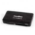 Lector Memorias Coolbox 60 EN 1 CRE-050 USB 2.0 Black