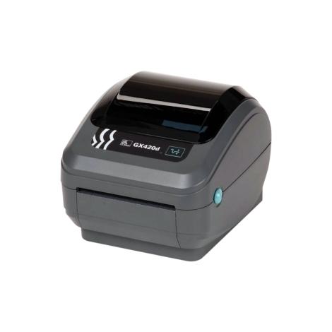 Impresora Zebra Etiquetas Monocromo GX420D Black