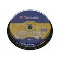 Dvd+Rw Verbatim 4.7GB 4X Lata 10U