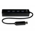HUB Startech ST4300 4 Puertos USB 3.0 Black
