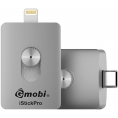 Memoria USB Silver HT 64GB Istick PRO USB-C / Lightning Silver