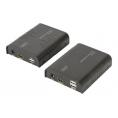 Conmutador KVM Digitus HDMI Extender FHD 60HZ USB RJ45