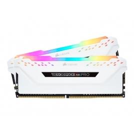 DDR4 16GB BUS 3200 Corsair CL16 Vengeance RGB PRO White KIT 2X8GB
