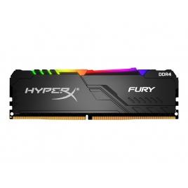 DDR4 32GB BUS 2666 Kingston CL16 Hyperx Fury RGB Black