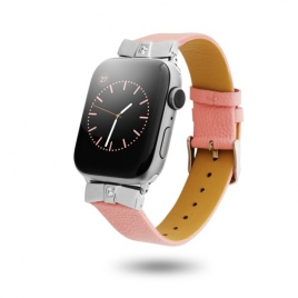 Correa Unotec para Apple Watch 38/40MM Leather Pink
