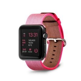 Correa Unotec para Apple Watch 38/40MM Nylon Pink