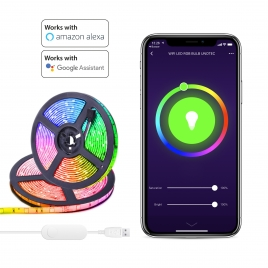 Tira LED Unotec 90 Leds Multicolor 3M Alexa / Google Home