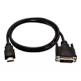 Cable V7 DVI-D Macho / HDMI Macho 1M