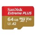 Memoria Micro SD Sandisk 64GB Extreme V30 170MB/S