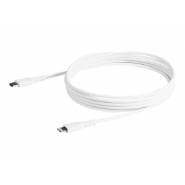 Cable Startech USB-C Macho / Apple Lightning Macho 2M White