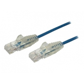 Cable Startech red RJ45 CAT 6 2.5M Blue
