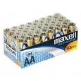 Pila Alcalina Maxell Alcalina Tipo AA LR6 Pack 32