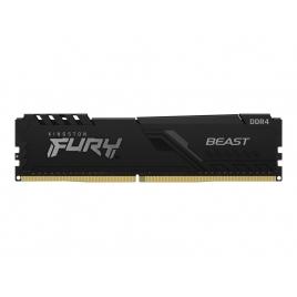 DDR4 8GB BUS 3600 Kingston CL17 Fury Beast Black