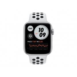 Apple Watch Nike Serie se GPS 44MM Silver Aluminium + Correa Nike Sport Pure Platinum/Black