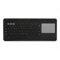 Teclado Silver HT Bluetooth + Touchpad Dark Grey Smart TV Android IOS