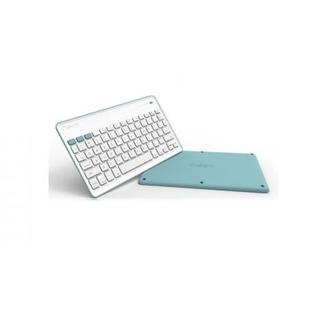 Teclado Silver HT Bluetooth Blue/White Smart TV Android IOS